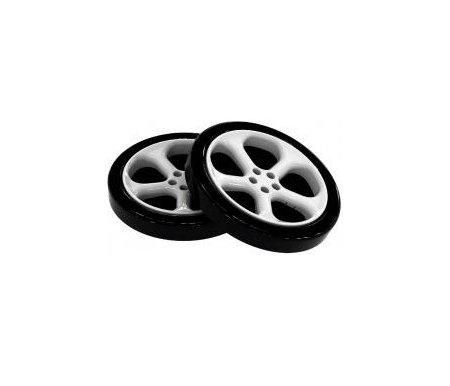 Комплект пластиковых колес ( 2 шт.)Аксессуары<br>Комплект колес из пенополистирола предназначен для кроватей-машин. Объемные накладные колеса создадут вид реальной машины. <br><br>  Вы можете купить два колеса и поставить кровать-машину вплотную к стене или купить четыре колеса и поставить кровать посередине комнаты. <br><br>   <br>     <br>      <br>     <br>       <br>         Внимание! Цена указана за 2 колеса.<br>