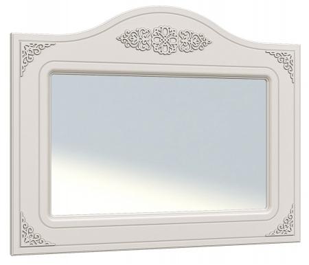 Зеркало Ассоль АС-08Аксессуары<br>Зеркало Ассоль АС-08 декорировано изящной резьбой в верхней части прямоугольной рамы.<br><br>Ширина: 100 см<br>Глубина: 3,2 см<br>Высота: 80 см<br>Материал: МДФ, зеркало<br>Цвет: белый