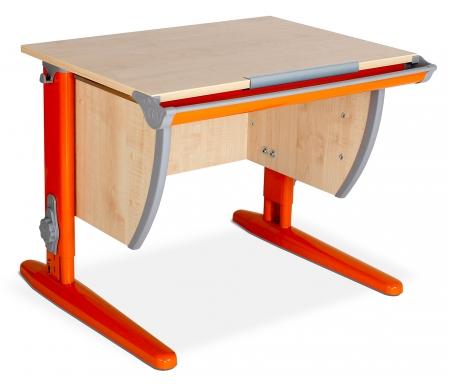 Парта ДЭМИ без рисунка Classic СУТ 14 клен / оранжевый