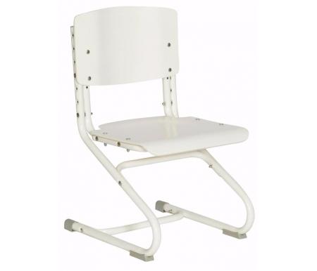 Стул растущий СУТ.01-01 белыйРастущие стулья<br>Высоту ножек стула и наклон спинки можно менять. Так же можно отрегулировать сиденье по вылету.<br><br>Максимальная глубина сиденья: 36 см.<br><br>Материал: ЛДСП.<br>
