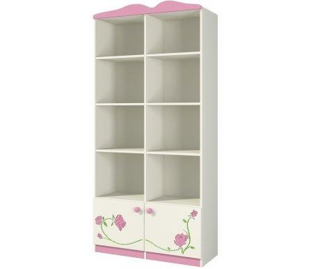Шкаф Розалия Ш90-1Д1Книжные шкафы<br>Удобный и практичный шкаф из МДФ. Состоит из восьми открытых полок и двух отделений с дверцами внизу. Прекрасно подойдет для хранения книг и многих других вещей, легко впишется в интерьер. <br> <br>  <br> <br> <br> <br>   <br>     <br>       <br>         <br>           <br>             <br>               <br>                 <br>                   <br>                    Материал фасада: МДФ-16 Kronospan Szczecinek (Польша), ПВХ Imawell (Германия), краска Sayerlack (Италия).<br>                   <br>                    Материал корпуса: ДСП-16/25 Kronospan Szczecinek (Польша).<br>                   <br>                       Кромка ПВХ 2.0 мм. <br>                  Материал фурнитуры: Hettich (Германия), Gamet, Patrex (Польша).<br><br>Ширина: 89 см<br>Глубина: 37 см<br>Высота: 182 см<br>Материал: МДФ, ДСП, ПВХ<br>Цвет: крем (розалия)
