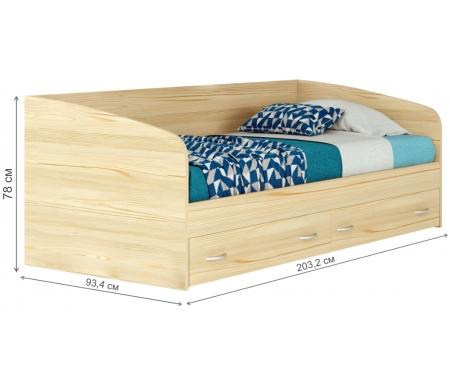 Кровать подростковая Наша мебель