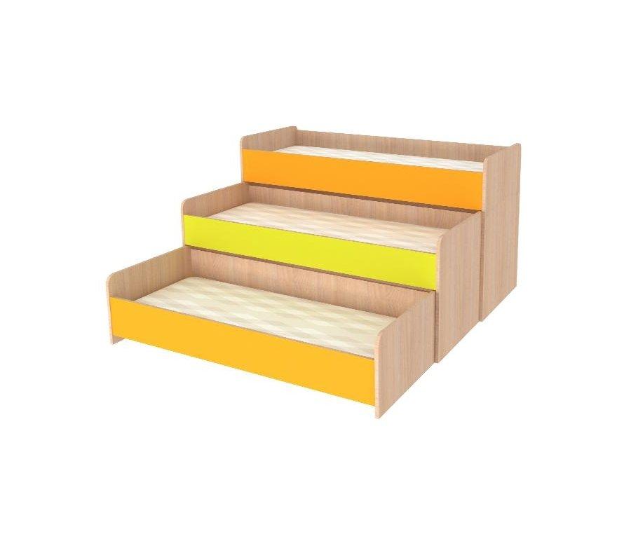 Кровать выдвижная с тремя спальными местами