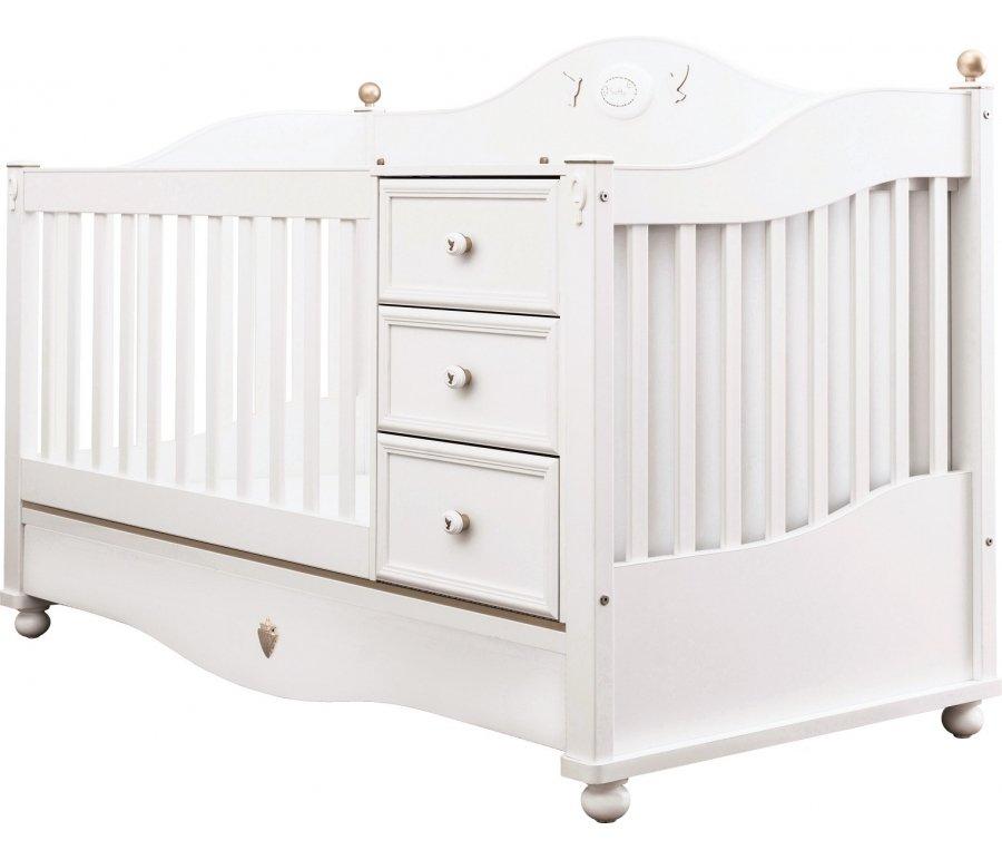 Детская кроватка-трансформер SOFTY SO-1011
