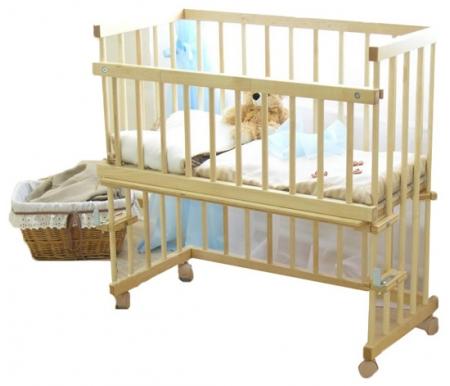 Купить Кровать детская Красная звезда, Малуша С751, слоновая кость, Массив дерева, дерево