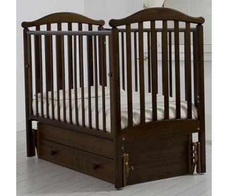 Купить Кровать детская с универсальным маятником Gandylyan, Людмила, махагон, ДСП, МДФ, дерево