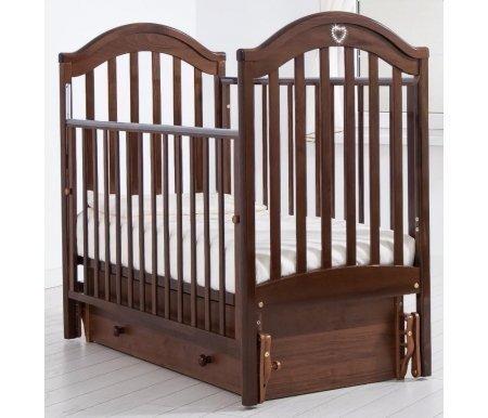 Купить Кровать детская с универсальным маятником Gandylyan, Софи, орех, ДСП, МДФ, дерево