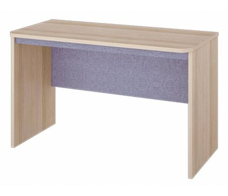 Стол Индиго 145.04Столы<br>Письменный стол из серии Индиго порадует цветовым исполнением. Его нейтральный цвет подойдет одинаково для спальни мальчика и девочки.<br><br>Ширина: 119 см<br>Глубина: 58 см<br>Высота: 73,2 см<br>Материал каркаса: ЛДСП<br>Цвет каркаса: ясень Коимбра<br>Материал фасада: ЛДСП<br>Цвет фасада: ясень Коимбра / Навигатор
