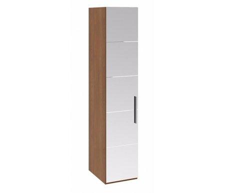 Шкаф для белья Вирджиния СМ-233.07.02 L дверь влево с зеркалом орех вирджинияШкафы<br>Дверные петли располагаются слева.<br>