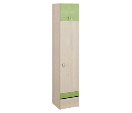 Шкаф однодверный Киви ПМ-139.06Шкафы одежные<br>Шкаф однодверный с нишей и ящиком из серии Киви. Направление открытия двери определяется при сборке.<br><br>Ширина: 44 см<br>Глубина: 45 см<br>Высота: 220 см<br>Материал каркаса: ЛДСП<br>Цвет каркаса: ясень Коимбра<br>Материал фасада: ЛДСП<br>Цвет фасада: ясень Коимбра / Панареа