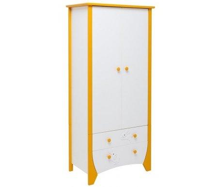Шкаф OLIVIA 650Шкафы одежные<br>Вместительный шкаф OLIVIA 650 отлично впишется в детскую. <br>Состоит из двух дверей и двух ящиков на бесшумных роликовых направляющих снизу.<br> <br>Производится из экологичных материалов.<br><br>Ширина: 82 см<br>Глубина: 49 см<br>Высота: 180 см<br>Материал: массив бука, МДФ, ЛДСП