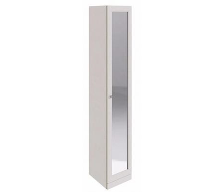 Шкаф торцевой Саванна СМ-234.07.09 с зеркаломШкафы<br>Шкаф универсальный, направление угла и открытия двери определяется при сборке.<br>