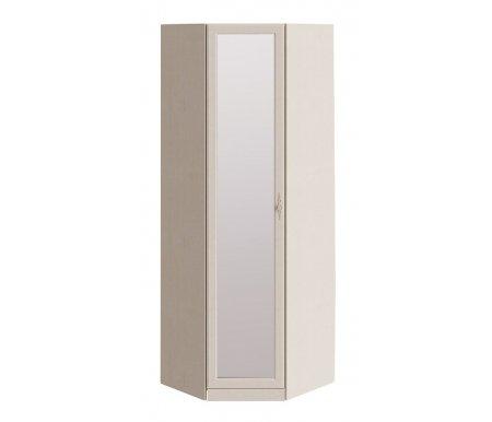 Шкаф угловой Лючия СМ-235.23.02 с зеркалом  Штрих-лакШкафы одежные<br>Материал ручек металл.<br> <br>  В комплекте одна полка и одна штанга.<br><br>  Направление открытия двери определяется при сборке.<br>