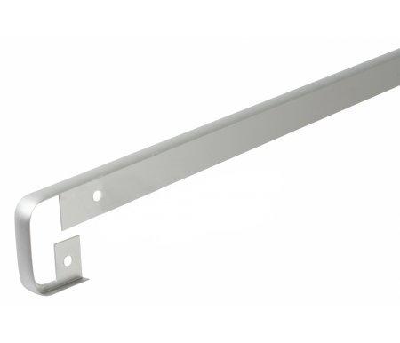 Планка для столешницы соединительная МатХром (R9) 38 ммАксессуары<br>Планка предназначена для защиты столешницы от попадания влаги, от механических повреждений и придания законченного вида кухонной столешнице. Используется для стыков столешницы.<br>