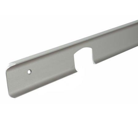 Планка для столешницы угловая МатХром (R9) 38 ммАксессуары<br>Планка защищает угловой срез столешницы от попадания влаги, от механических повреждений и придания законченного вида кухонной столешнице. Предназначен для соединения столешницы модуля НУ 990 с другими модулями.<br>