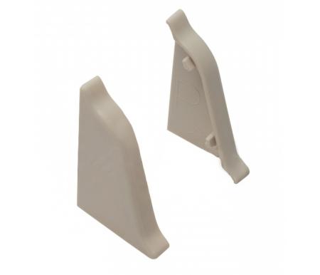 Купить Комплект Bravomebel, заглушек для плинтуса АР-740 1230 2 шт, пластик