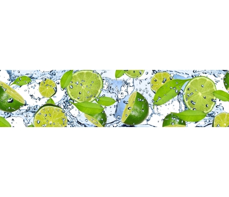 Фартук для кухни Лайм толщиной 3 мм и шириной 244 смСтеновые панели<br>Панель выполнена из ХДФ c у/ф печатью, имеет высокую устойчивость к царапинам, истиранию, загрязнению, температурам, воздействию химических и чистящих веществ и солнечных лучей. Фартук снаружи покрыт специальным лаком, оборотная сторона обработана защитным водоотталкивающим покрытием. <br> <br>  <br> <br> Объем: 0.00447 куб.м.<br>