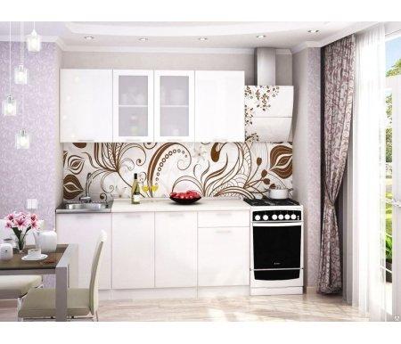 Готовая кухня Валерия-М комплектация 5 каркас белый, фасад белый глянецПрямые кухни<br>Фасады: 16 мм.<br>   <br>     <br>        <br>       <br>   <br>    1, 3. Шкаф верхний (каркас В 500 + фасад Ф-30).<br>   <br>     <br>      Габаритные размеры (Ш x Г x В): 50 см х 32 см х 72 см.<br>     <br>      В комплект входит 1 полка.<br>     <br>      Направление открытия двери: универсальное.<br>     <br>       <br>        <br>       <br>     <br>      2. Шкаф верхний со стеклянными дверями (каркас В 800 + фасад Ф-55).<br>     <br>      Габаритные размеры (Ш x Г x В): 80 см x 32 см x 72 см.<br>     <br>       В комплект входит 1 полка. <br>     <br>       <br>        <br>       <br>     <br>      4.Нижний шкаф под накладную мойку (Каркас НМ 500 + фасад Ф-30).<br>     <br>      Габаритные размеры (Ш x Г x В): 50 см х 48 см х 85 см.<br>     <br>       <br>        <br>       <br>     <br>      5. Нижний шкаф с двумя дверями (каркас Н 800 + фасад Ф-50).<br>     <br>      Габаритные размеры (Ш x Г x В): 80 см х 48 см х 85 см.<br>     <br>      В комплект входит 1 полка.<br>     <br>       <br>        <br>       <br>     <br>      6. Нижний шкаф с одним ящиком (каркас Н 501 + фасад Ф-31).<br>     <br>      Габаритные размеры (Ш x Г x В): 50 см х 48 см х 85 см.<br>     <br>       <br>        <br>       <br>     <br>       <br>         <br>           <br>             <br>               <br>                Габаритная высота указана с учетом рекомендуемого расстояния(60 см)между верхними и нижними ящиками. Ширина гарнитура указана без учета расстояния для установки плиты (60 см) справа и расстояния для установки вытяжки (60 см). <br>                   <br>                    <br>                   <br>                 <br>                  К гарнитуру предполагается единая столешница СТ-1400.<br>                 <br>               <br>                 <br>                  <br>                 <br>               <br>                 <br>                   <br>                    При
