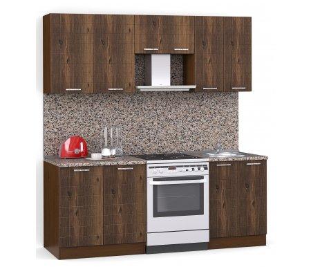 Кухонный гарнитур Лиана лайн 200 см орех / орех светлый (232) / гранитПрямые кухни<br>Покрытие столешницы: пластик.<br> <br>Высота верхних шкафов: 72 см.<br> <br>Глубина верхних шкафов:30 см.<br> <br>Высота нижних шкафов:85 см.<br> <br>Глубина нижних шкафов:60 см.<br> <br>Высота цоколя:10 см.<br> <br>Размеры упаковки: 220 см х 165 см х 20 см.<br> <br>Количество упаковок: 5.<br> <br> <br>  <br> <br> <br>Комплектация:<br> <br> <br>    <br>   <br> <br> <br>   <br>    1. Шкаф напольный со столешницей<br>   <br>    Габаритные размеры (В x Ш x Г): 85 см х 80 см х 60 см.<br>   <br>     <br>        <br>       <br>   <br>    2. Шкаф напольный под мойку со столешницей (без полок, без задней стенки)<br>   <br>    Габаритные размеры (В x Ш x Г): 85 см х 60 см х 60 см.<br>   <br>     <br>        <br>       <br>   <br>    3. Шкаф навесной<br>   <br>    Габаритные размеры (В x Ш x Г): 72 см х 80 см х 30 см.<br>   <br>     <br>        <br>       <br>   <br>    4. Шкаф навесной под вытяжку<br>   <br>    Габаритные размеры (В x Ш x Г): 36 см х 60 см х 30 см.<br>   <br>     <br>        <br>       <br>   <br>    5. Шкаф навесной под сушку (без полок)<br>   <br>    Габаритные размеры (В x Ш x Г): 72 см х 60 см х 30 см.<br>   <br> <br> <br> <br>  <br> <br> <br>Габаритная высота указана с учетом рекомендуемого (60 см) расстояния между верхними и нижними ящиками.<br><br><br>    <br>  <br><br><br>  Приобретается отдельно:<br><br>  <br>    <br>  <br><br>  Аксессуары для столешницы:<br><br>  1. Заглушки для плинтуса.<br><br>  2. Плинтус длиной 2 метра.<br><br>  <br>    <br>  <br><br>  Стеновая панель:<br><br>  1. Стеновая панель гранит толщиной 4 мм шириной 2 метра.<br><br>  2. Торцевая планка для стеновой панели (2 шт.).<br><br>  <br>    <br>  <br><br>  Мойка:<br><br>  1. Мойка врезная круглая диаметром 49 см.<br><br>  <br>    <br>  <br><br>  Сушка:<br><br>  1. Сушилка для стандартной кухонной полки шириной 60 см.<br>