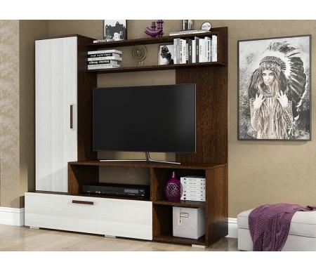 Купить Готовая гостиная БТС-мебель, Евро-2 венге / лоредо