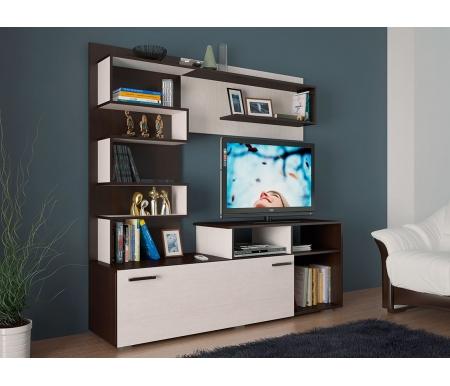 Купить Готовая гостиная БТС-мебель, Евро венге / лоредо, Россия