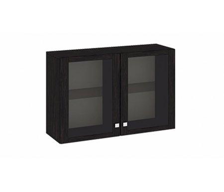 Антресоль малая Фиджи Ам(05)_31(2) венге цавоМодульные навесные шкафы<br>Внутренние полки выполнены из стекла.<br>