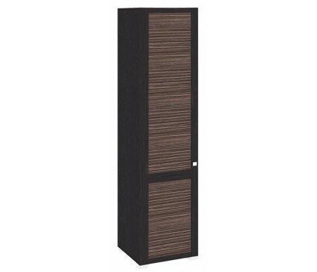 Шкаф комбинированный с 1-ой дверью левый Фиджи ШК(07)_23L венге цаво / канал дубаМодульные распашные шкафы<br>Петли располагаются слева.<br><br>В комплект входит штанга.<br>