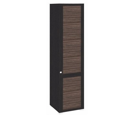 Шкаф комбинированный c полками Фиджи ШК(07.02)_23R венге цаво / каналы дубаМодульные распашные шкафы<br>Петли располагаются справа.<br> В комплекте идет штанга для одежды.<br>