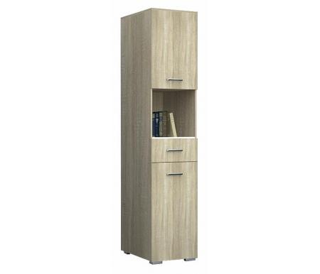 Купить Шкаф-пенал НК мебель, Гамильтон дуб сонома, Россия