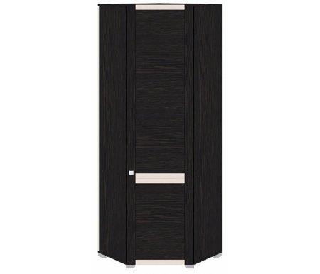Шкаф угловой правый Фиджи ШУ(08)_23R венге цавоМодульные распашные шкафы<br>Ширина и глубина шкафа обозначают стороны прилегающие к стене.<br>Расположение петель справа.<br>