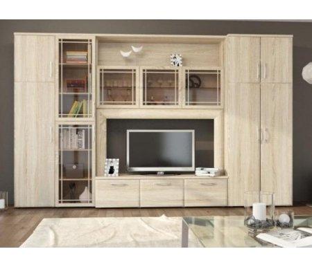 Купить Модульная гостиная Корвет, МК 48 ель 3D (комплектация 2)