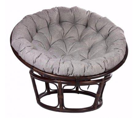Кресло для отдыха Papasan Chair с подушкой орехКресла<br>Высота сиденья: 40 см.<br>
