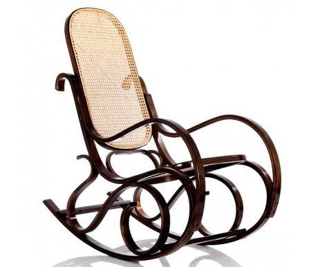 Кресло-качалка Формоза (ротанг орех) Рокенгчэирс