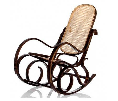 Кресло-качалка Формоза (ротанг орех) от ЛайфМебель