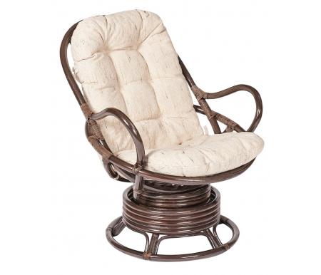 Кресло вращающееся Flores 5005 с подушкой орехКресла-качалки<br><br>