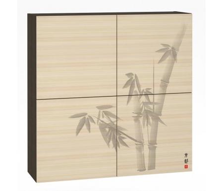 Купить Шкаф навесной Моби, Киото 904 венге магия / дуб паллада арт. №К-02, Россия
