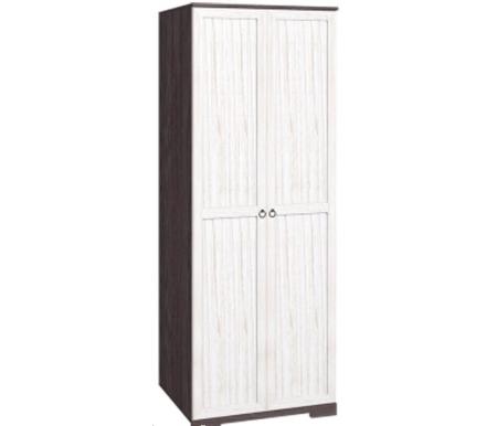 Купить Шкаф для одежды Глазов, Марсель 12 стандарт без зеркала ясень анкор темный / бодега светлый, Россия