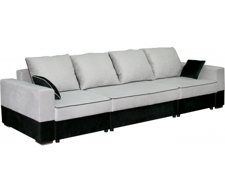 Купить Диван-кровать Мебельград, Бостон 2800 вариант 3 серый