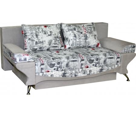 Купить Диван-кровать Мебельград, Джеки 4 вариант 2 серый