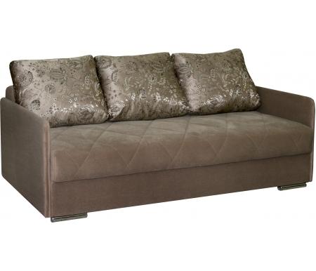 Купить Диван-кровать Мебельград, Флеш 1 вариант 1 коричневый