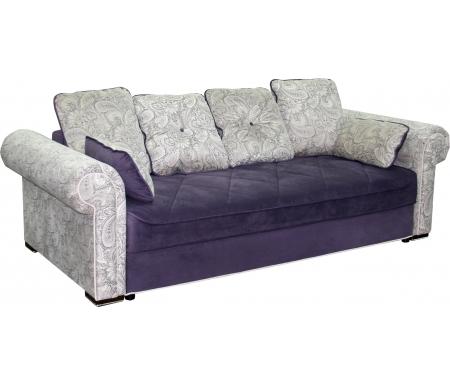 Купить Диван-кровать Мебельград, Цезарь вариант 1 фиолетовый