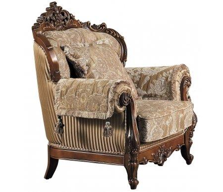 Кресло Атлант кофейныйКресла<br>Подушки и накидки на подлокотники входят в комплект.<br>
