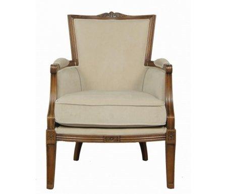 Кресло CH-4380-BEКресла<br>Кресло CH-4380-BE в прованском стиле будет удачным и элегантным акцентом в вашей комнате.<br><br>Ширина: 65 см<br>Ширина сиденья: 60 см<br>Глубина: 70 см<br>Глубина сиденья: 55 см<br>Высота: 90 см<br>Материал каркаса: массив дуба<br>Цвет каркаса: коричневый<br>Цвет обивки: бежевый<br>Вес: 20 кг