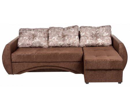 Диван угловой Сатурн фанки 10  / фифа 18000Диваны<br>Наполнение: пружинный блок Bonnel, войлок, ППУ 25 кг/м3, синтепон, простеганный с обивочной тканью. <br>Наполнение подушек: синдишар и крошка ППУ.<br> В диване имеется 2 бельевых ящика.<br>