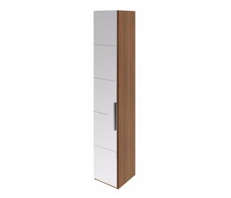 Шкаф торцевой Вирджиния СМ-233.07.09 L с дверью влево с зеркалом орех вирджинияШкафы<br><br>