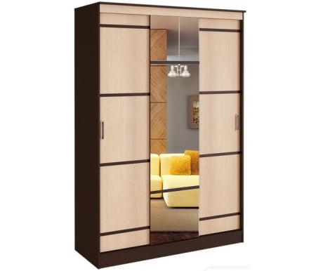 Шкаф-купе БТС-мебель, Сакура 1, 5м венге / лоредо, Россия  - Купить