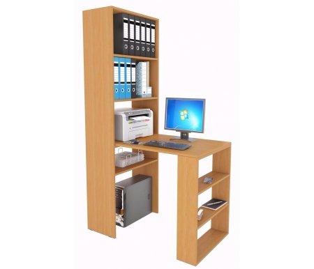 Стеллаж Рикс-4 МСТ-ССР-04-##-16 + Стол Рикс-5 МСТ-ССР-05-##-16 букКомпьютерные столы<br><br>