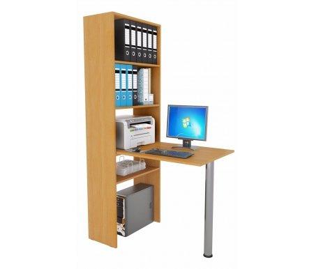 Стеллаж Рикс-4 МСТ-ССР-04-##-16 + Стол Рикс-6 МСТ-ССР-06-##-16 букКомпьютерные столы<br><br>