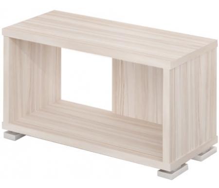 Стеллаж СБ-10-1Стеллажи<br>Стеллаж СБ-10-1 - это легкая модульная модель, имеющая простой и лаконичный дизайн.<br> <br>  Изготовлен из качественных материалов.<br> <br>  Моделируется с другими стеллажами данной серии.<br><br>Ширина: 70 см<br>Глубина: 30 см<br>Высота: 40,5 см<br>Материал: ЛДСП