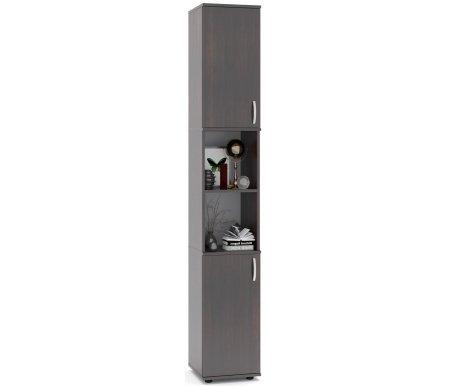 Стеллаж ШУ-32Стеллажи<br>Стеллаж ШУ-32 изготовлен из качественного ламинированного ДСП толщиной 16 мм и оснащен пластиковыми ножками. Задняя стенка стеллажа выполнена из ДВП серого цвета. Дверцы могут открываться как на правую, так и на левую сторону. <br><br> Поставляется в разобранном виде (2 упаковки).<br><br>Цвет: Ольха / Ольха<br>Цвет: Испанский орех<br>Цвет: Дуб Венге<br>Цвет: Ноче-экко<br>Цвет: Дуб венге / Беленый дуб<br>Ширина: 34,2 см<br>Глубина: 37,2 см<br>Высота: 215,8 см<br>Материал: ЛДСП<br>Вес: 26 кг